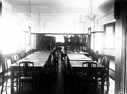 Brassey House dining room. Macquariei Street, Barton