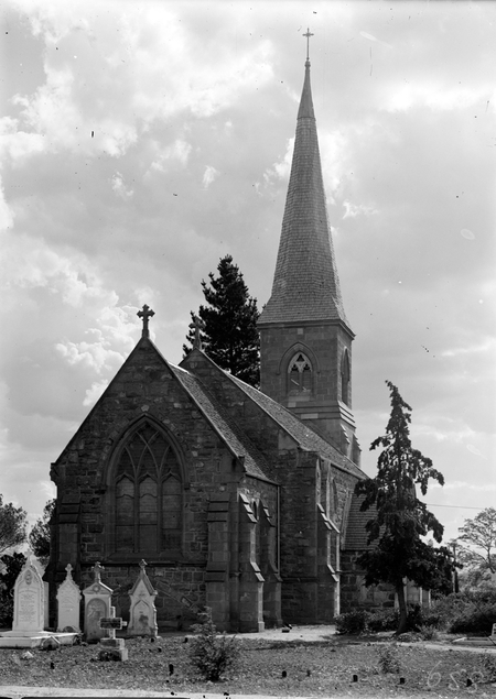 St John's Church, Constitution Avenue, Reid, from the east.
