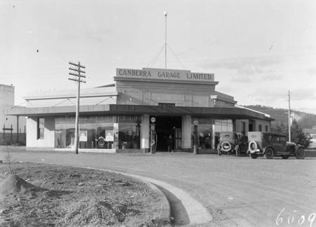 Canberra Garage Limited, Mort Street, Braddon.