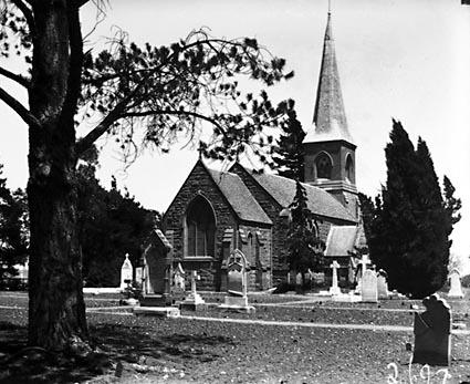 St John's church, Constitution Avenue, Reid