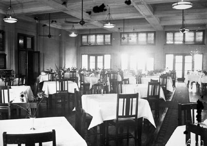 Dining Room, Canberra Hotel