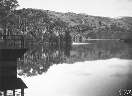 Cotter Dam, near the wall