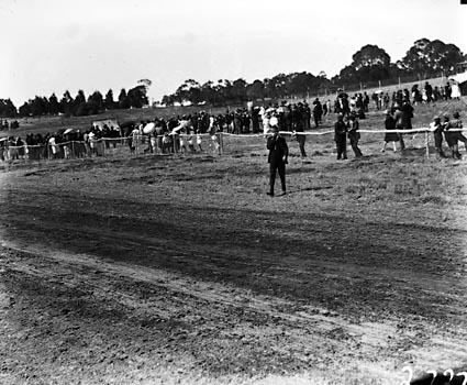 Race meeting .Scene at the meeting on Acton race course