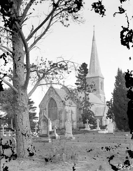 St John's Church and graveyard, Constitution Avenue, Reid.