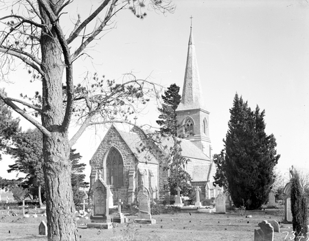 St John's Church and graveyard, Constitution Avenue, Reid.