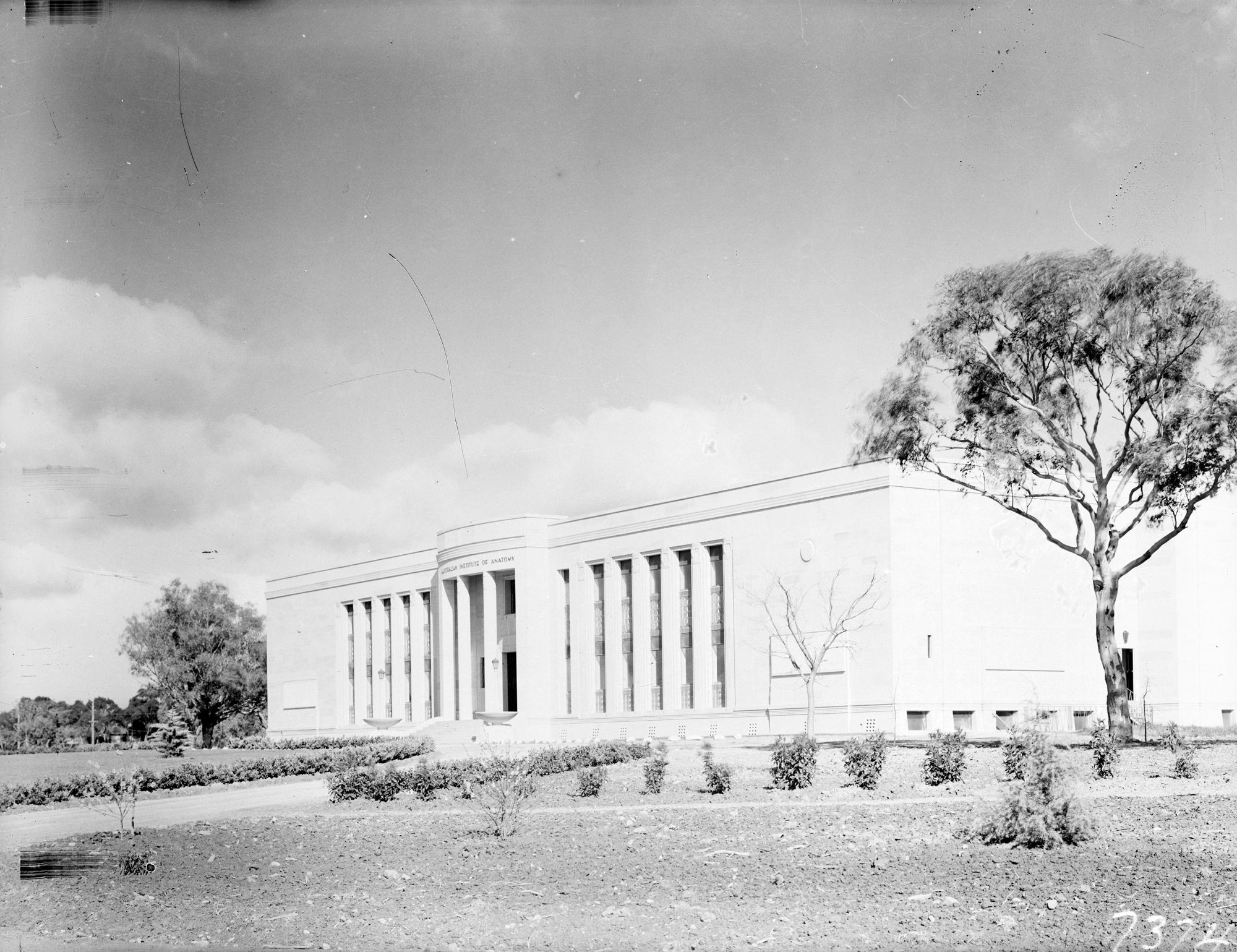 "Rephotograph ""Australian Institute of Anatomy, McCoy Circle ..."