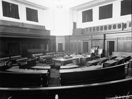 Senate Chamber, Parliament House.