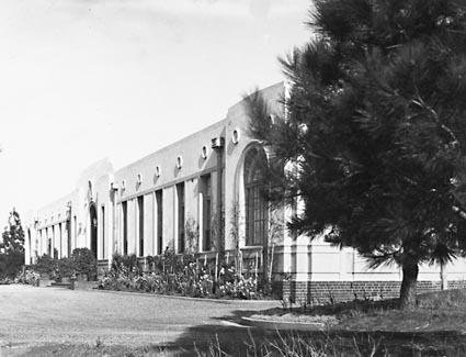 Front of Australian Forestry School, Banks Street ,Yarralumla