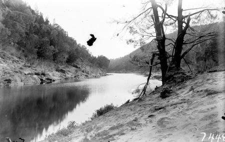 Unidentified river scene.