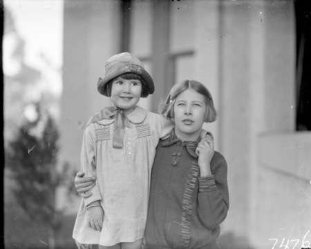 Two of Sir John Butters' children.