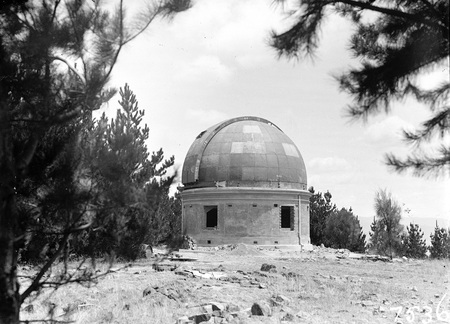 30 Inch Reynolds Telescope under construction at Commonwealth Solar Observatory on Mt Stromlo.