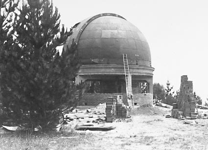 30 Inch Reynolds Telescope under construction at  Commonwealth Solar Observatory on Mt Stromlo