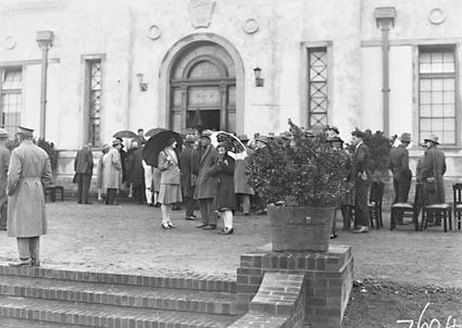 Opening of Church of England Mens Society - Spectators at the  Australian Forestry School, Banks St., Yarralumla
