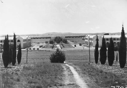 Image of Northbourne Avenue, Canberra, ACT,  taken from City hill)