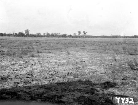 Flight to Central Australia. Unidentified landscape.