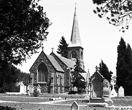 St. John's Church, Constitution Avenue,  Reid,  from Anzac Parade