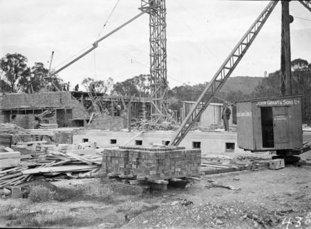 Institute of Anatomy under construction.