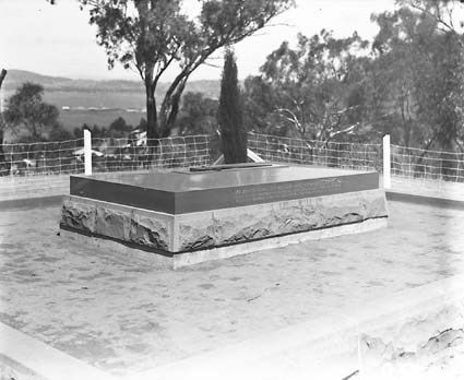 Grave of General W.T. Bridges at Mt. Pleasant