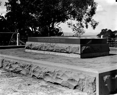 Grave of General W. T. Bridges at Mt. Pleasant.