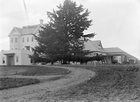 Government House from south east, Residence of the Governor General, Yarralumla.