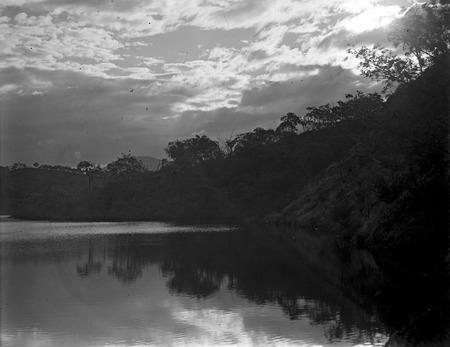 Unidentified river scene