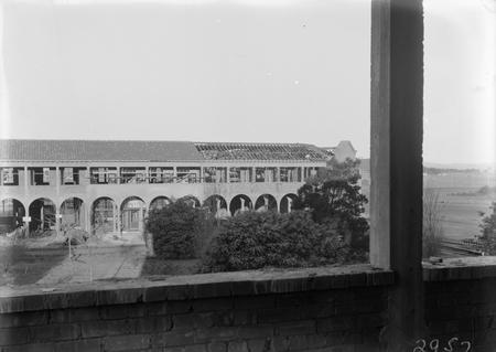 Part of Civic Centre, Sydney Building under construction.