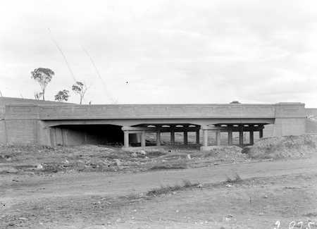 Ginninderra Creek Bridge on the Yass-Queanbeyan Road. Builder Warren McDonald.