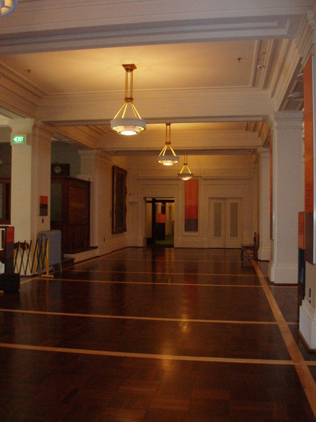Kings Hall near the grand stairway entry