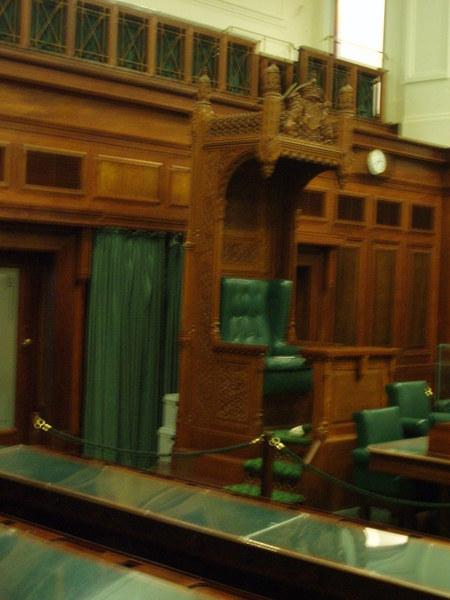 The Speaker's Chair