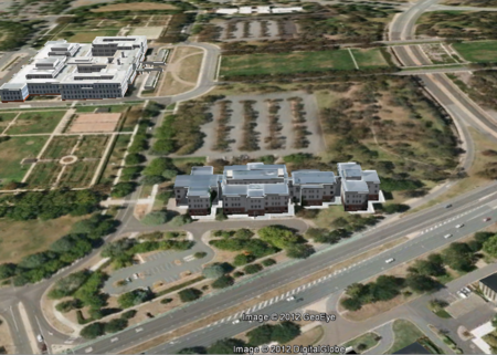 Google Earth image of more or less the same location.