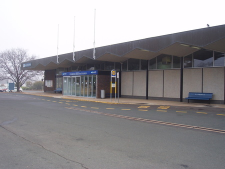 Modern day Canberra Railway Station