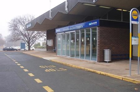 Modern day Canberra Railway Station