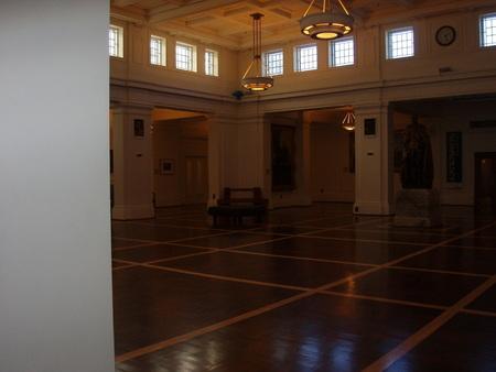 Kings Hall complete
